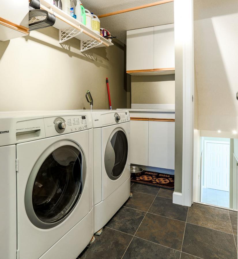 Laundry at 2882 Nash Drive, Scott Creek, Coquitlam