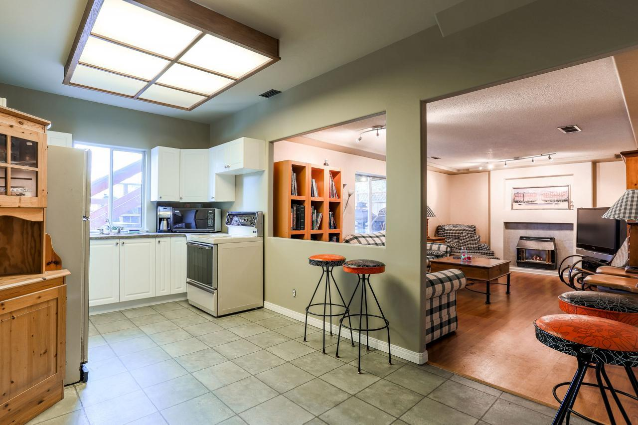Kitchen Downstairs at 2882 Nash Drive, Scott Creek, Coquitlam