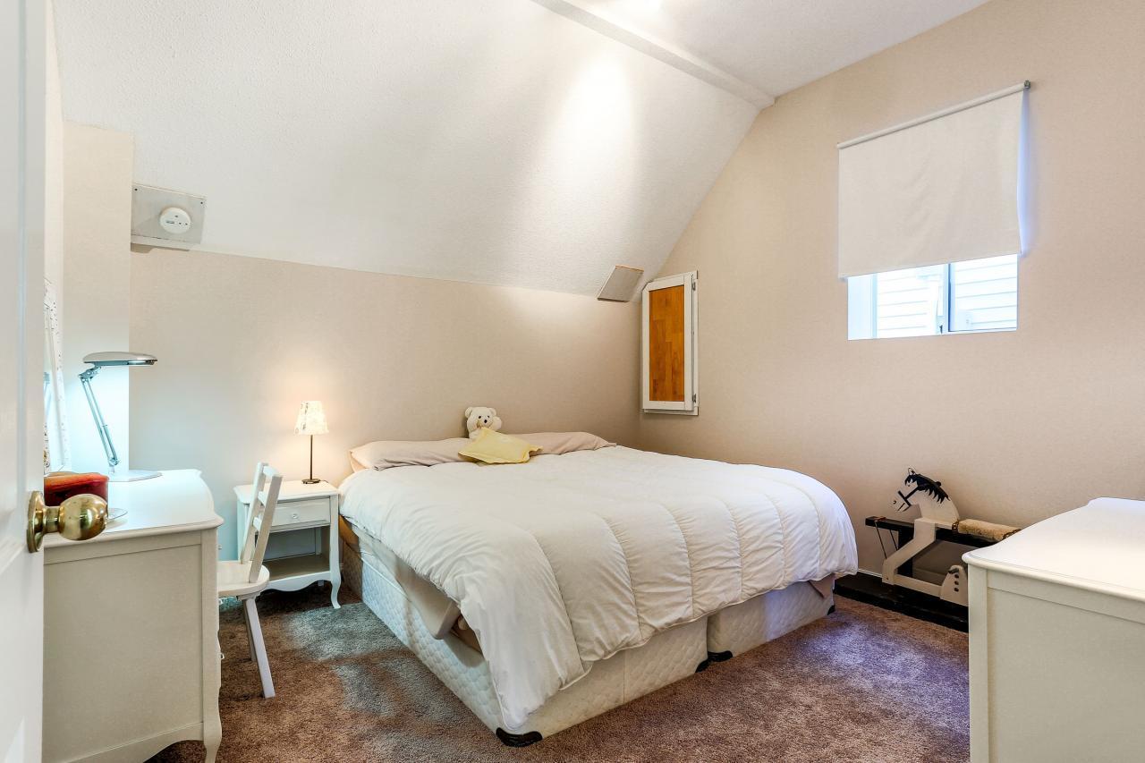 Bedroom Downstairs at 2882 Nash Drive, Scott Creek, Coquitlam