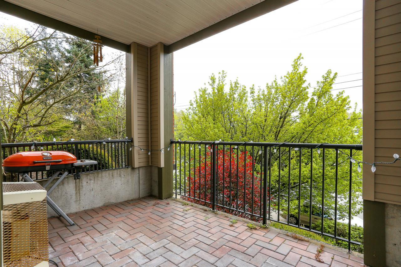 Deck at 105 - 1591 Booth Avenue, Maillardville, Coquitlam