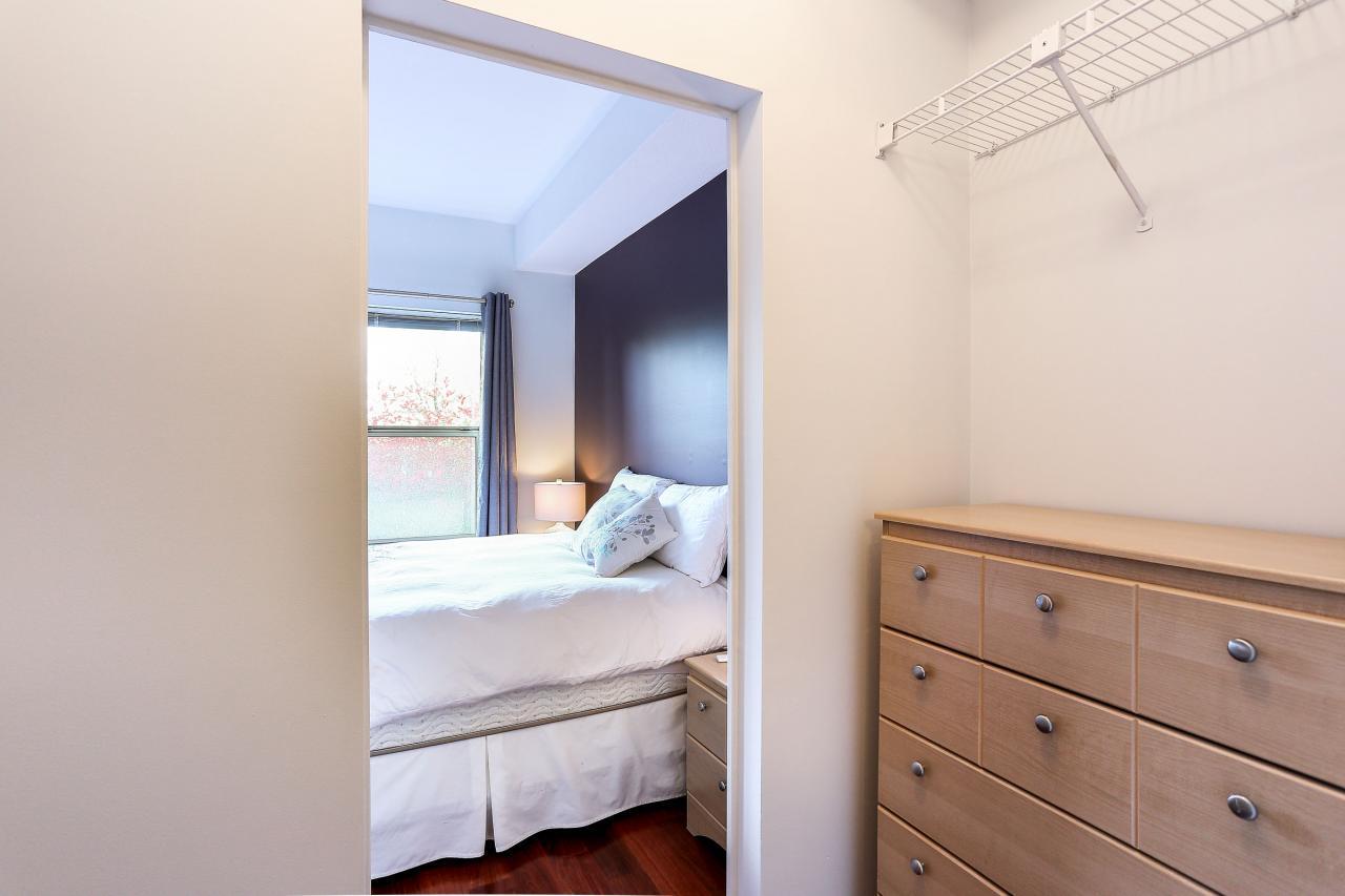 Closet at 105 - 1591 Booth Avenue, Maillardville, Coquitlam
