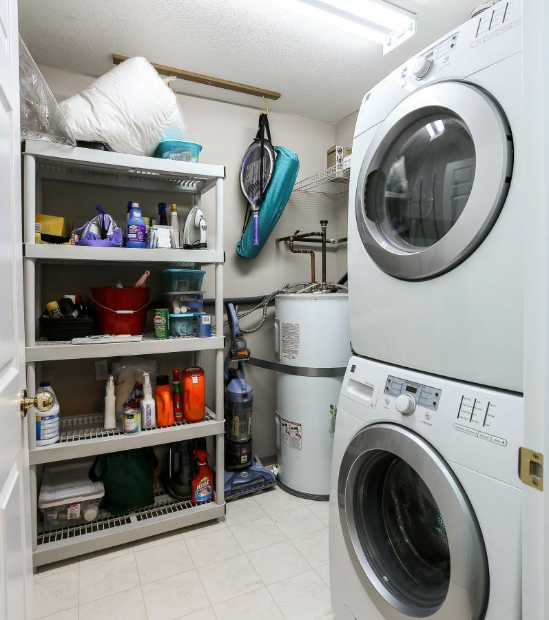 Spacious Laundry Room at 105 - 1591 Booth Avenue, Maillardville, Coquitlam