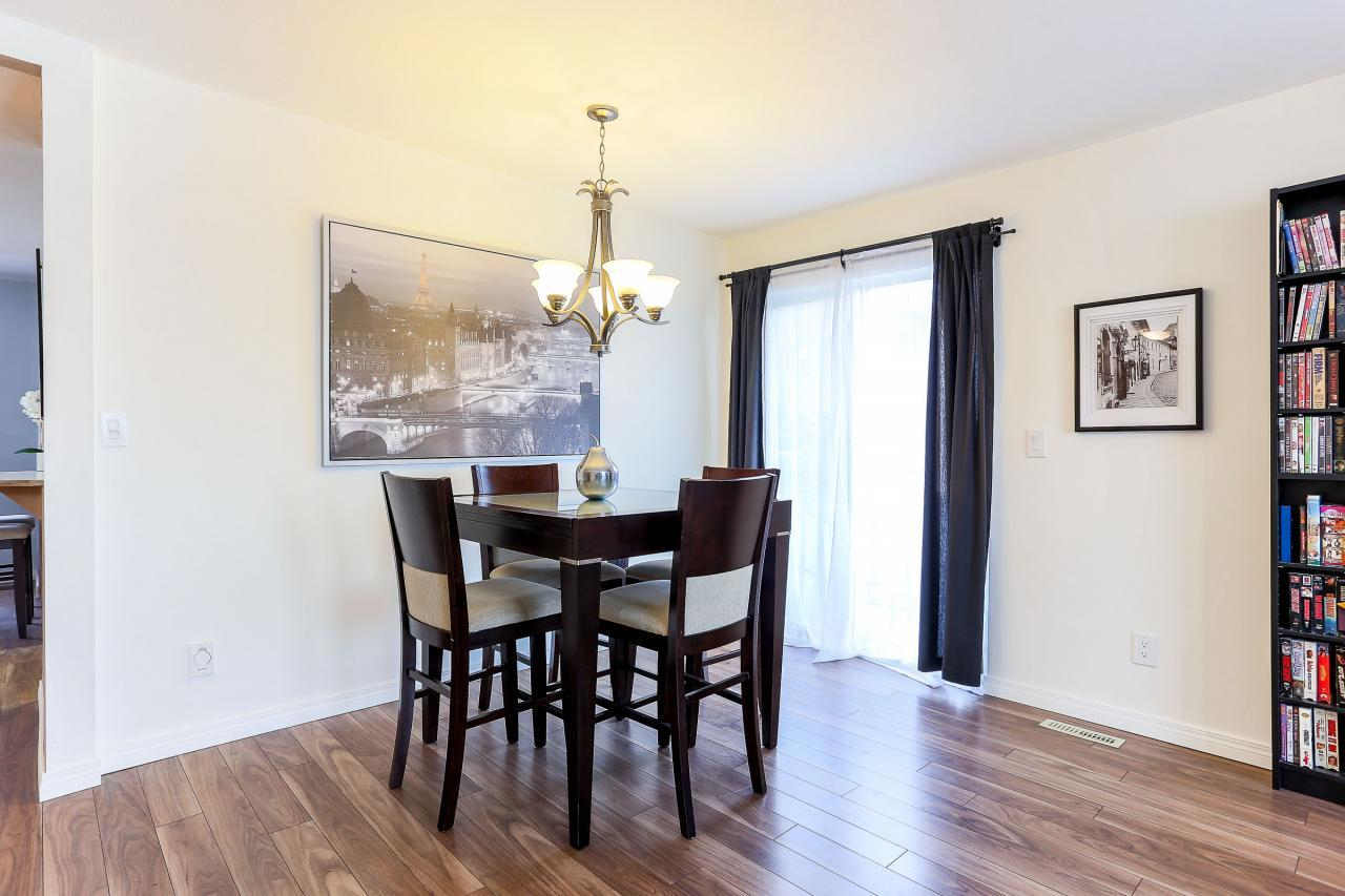 Dining room at 8 - 1872 Harbour Street, Citadel PQ, Port Coquitlam