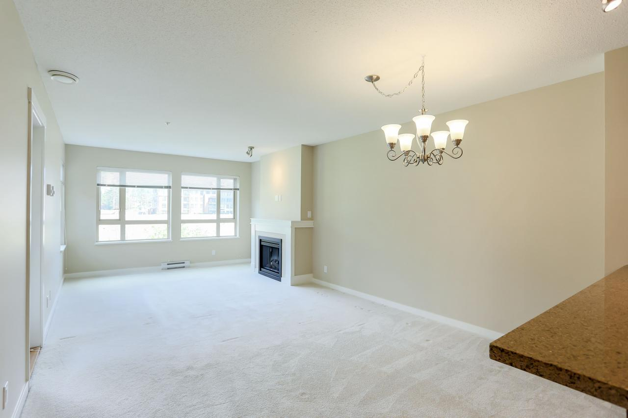 Dining Room at 308 - 3097 Lincoln Ave, New Horizons, Coquitlam