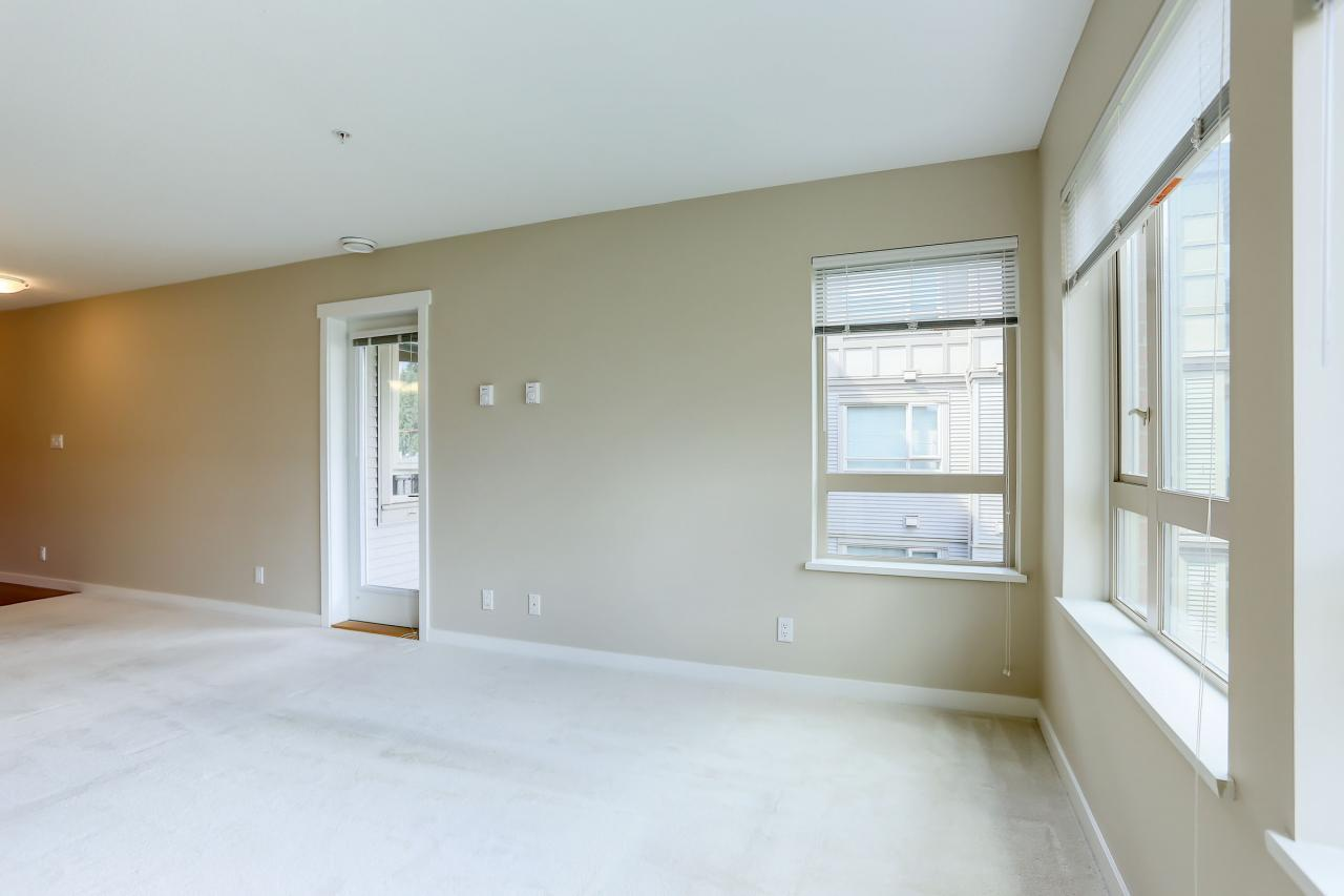Living Room at 308 - 3097 Lincoln Ave, New Horizons, Coquitlam
