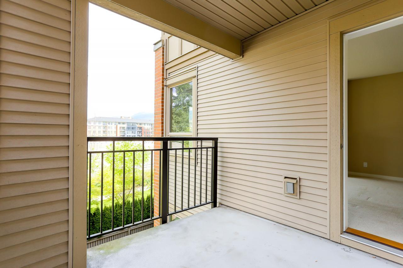 Patio at 308 - 3097 Lincoln Ave, New Horizons, Coquitlam