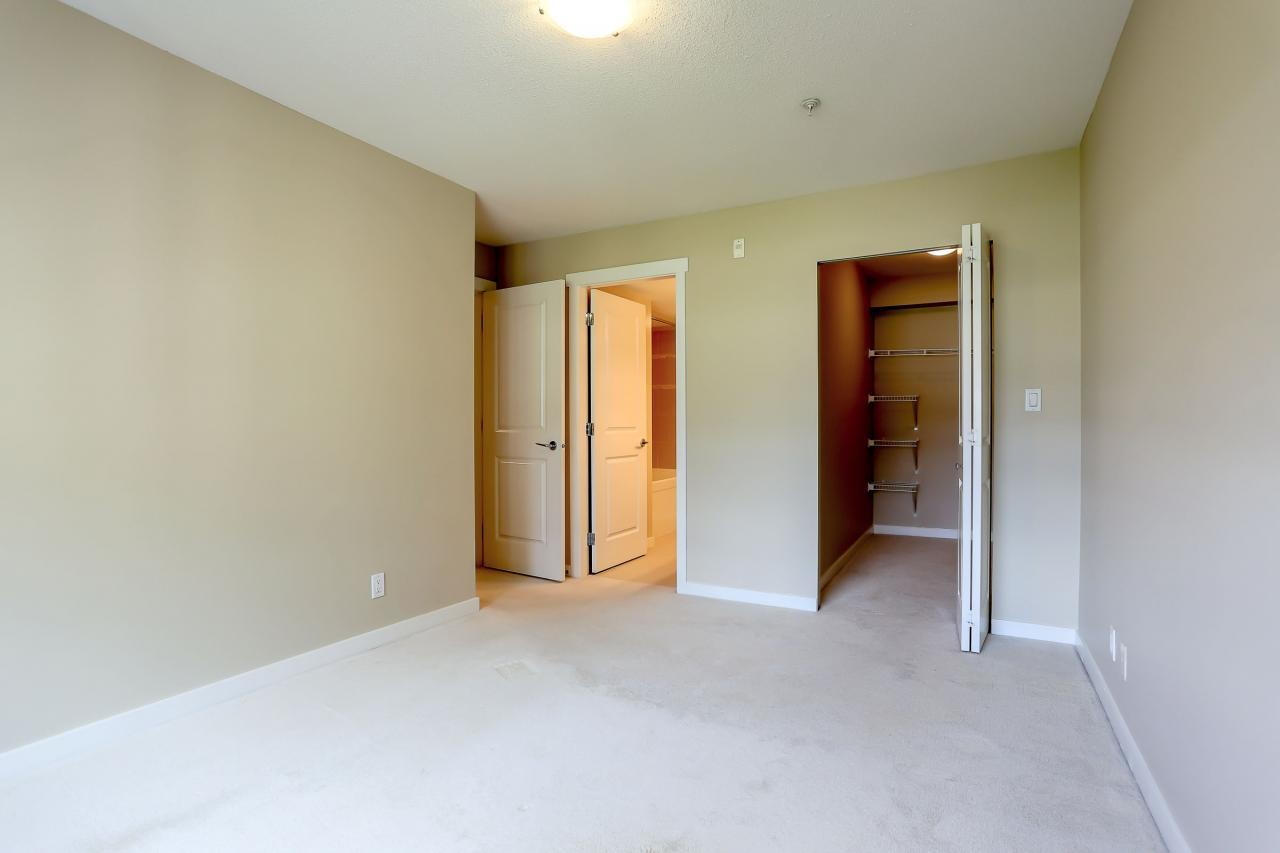 Master Bedroom w/ Large Walk in Closet at 308 - 3097 Lincoln Ave, New Horizons, Coquitlam