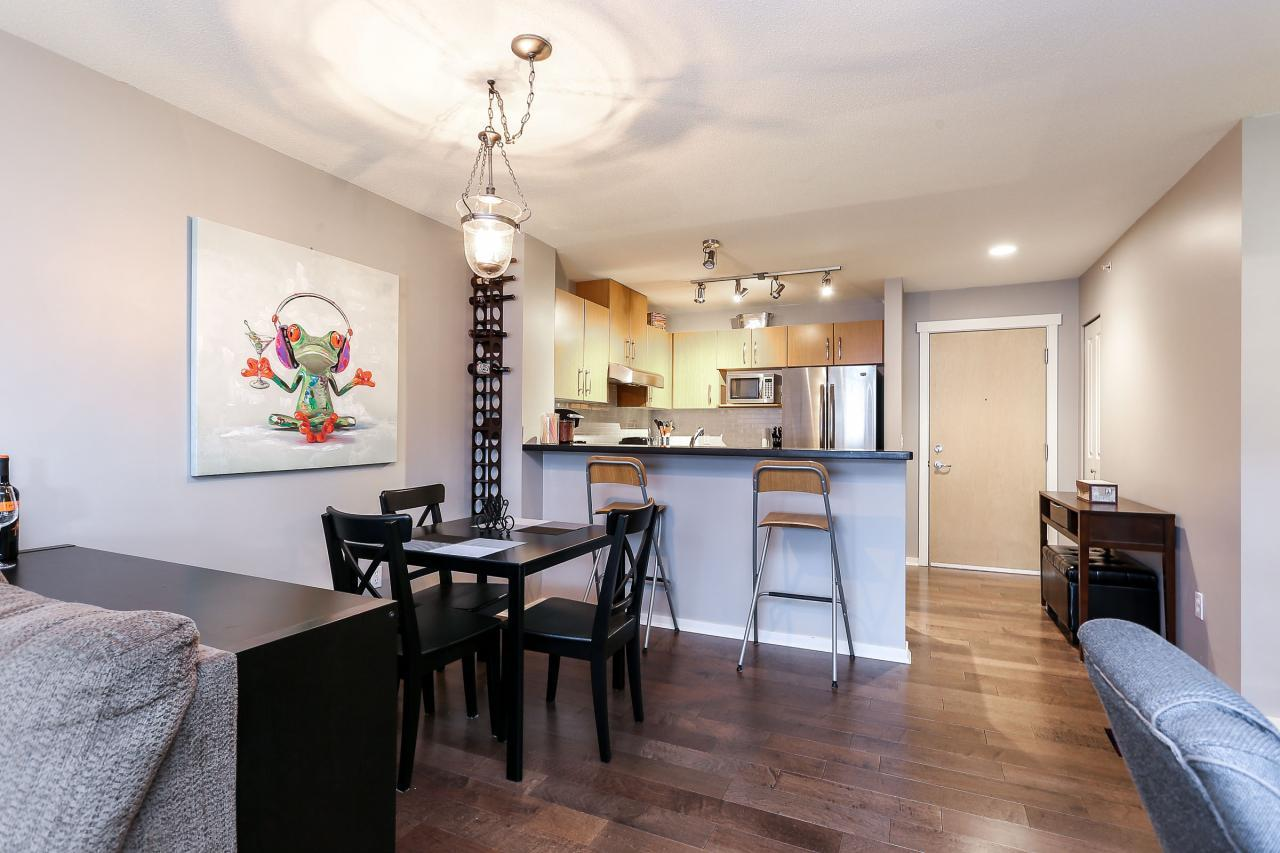 Dining Room at 404 - 400 Klahanie Drive, Port Moody Centre, Port Moody