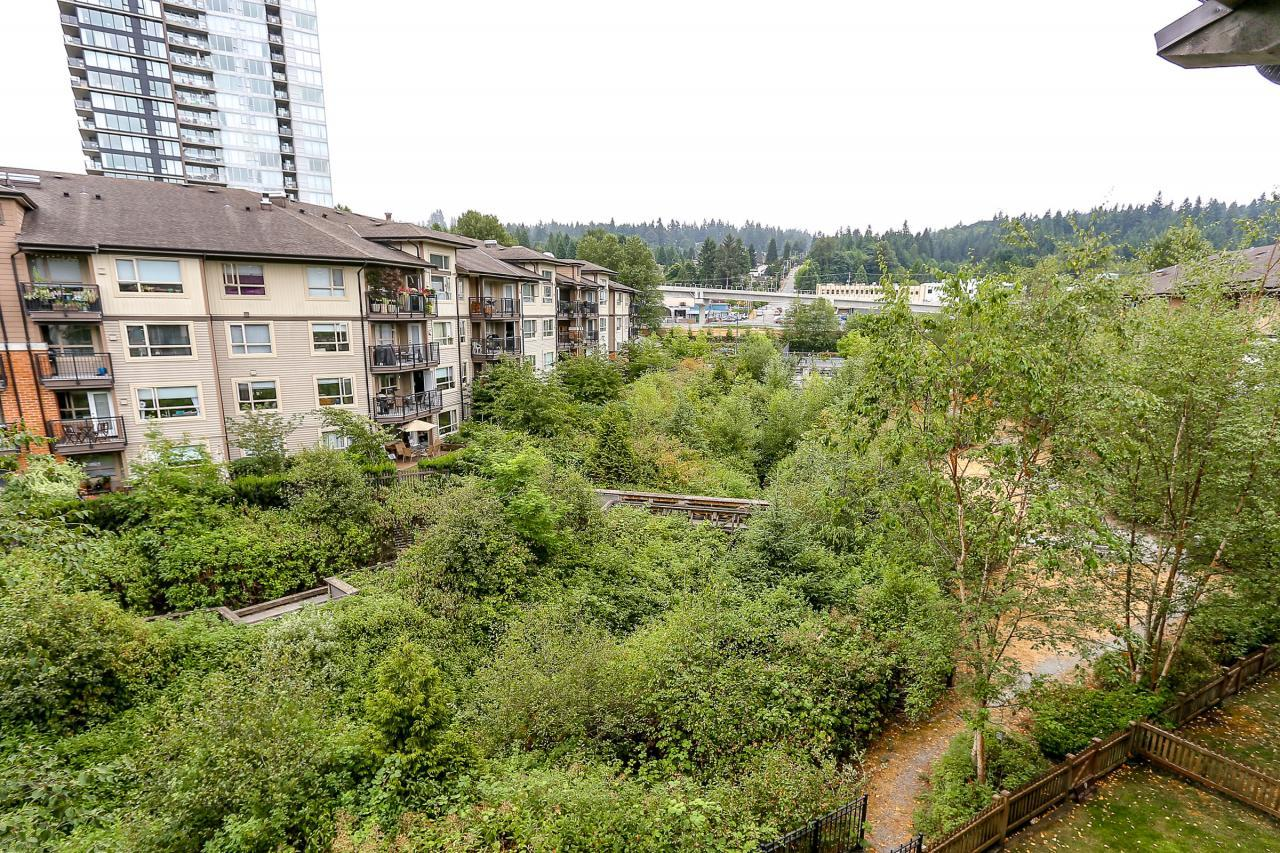 View from Deck at 404 - 400 Klahanie Drive, Port Moody Centre, Port Moody