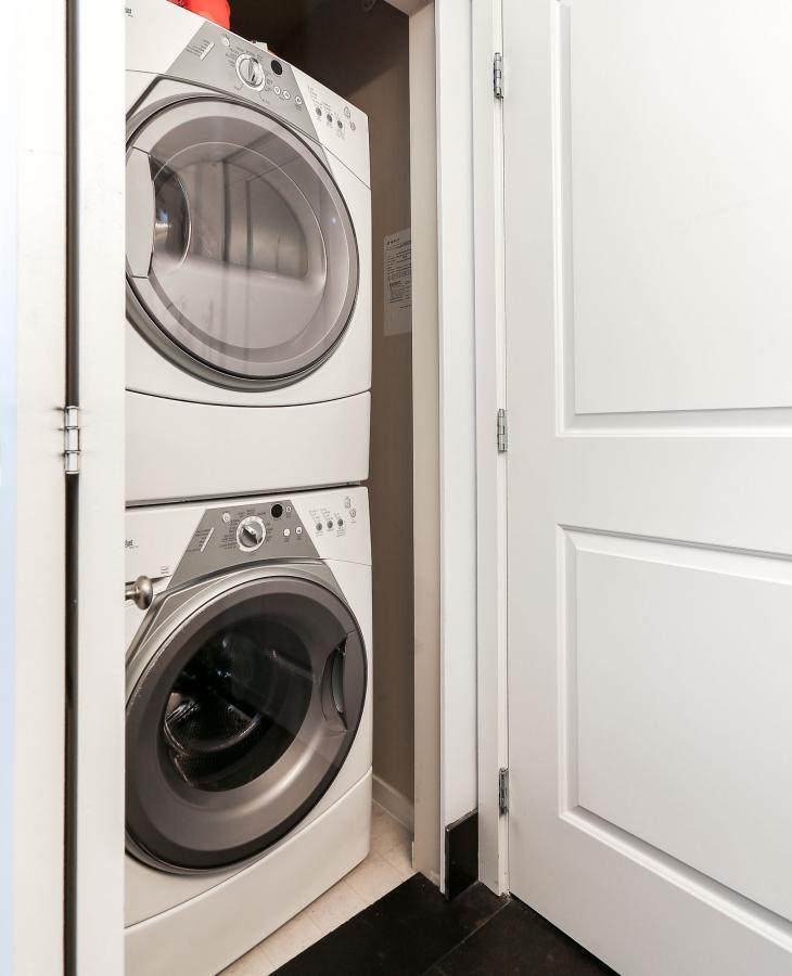 Laundry at 404 - 400 Klahanie Drive, Port Moody Centre, Port Moody