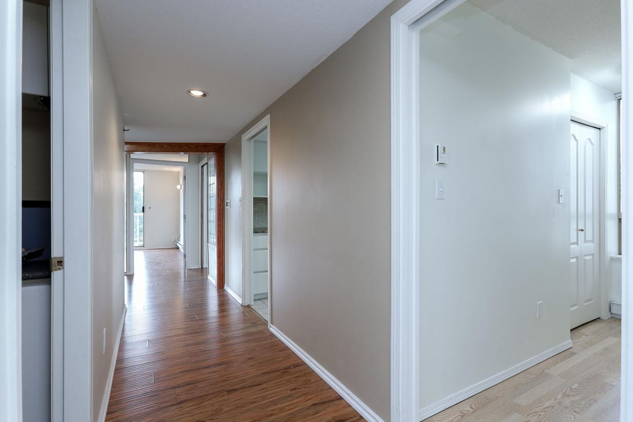 Hallway at 704 - 1189 Eastwood Street, North Coquitlam, Coquitlam