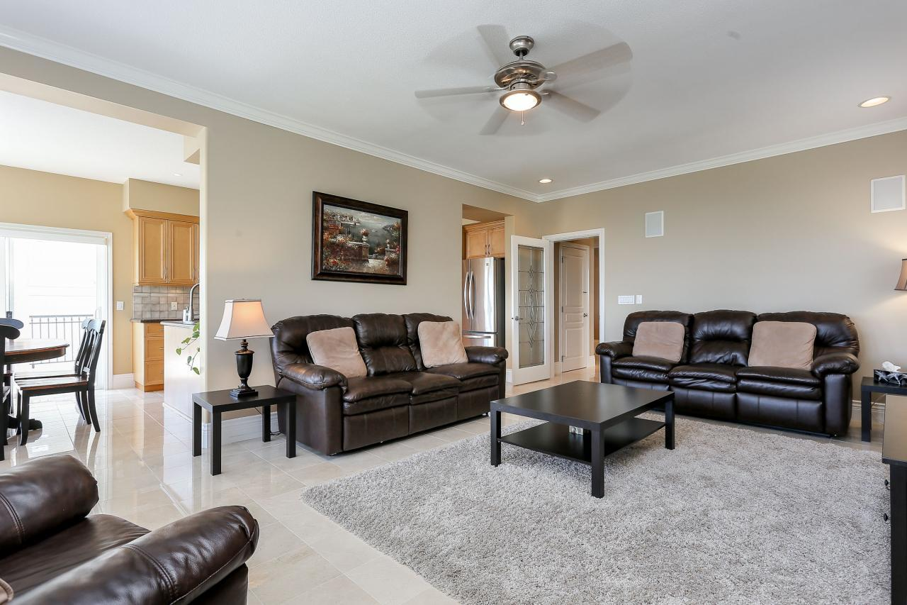 Family room at 1709 Augusta Place, Westwood Plateau, Coquitlam