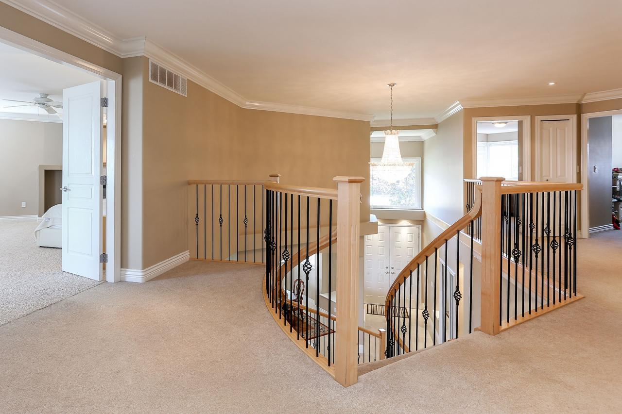 Upper floor hallway at 1709 Augusta Place, Westwood Plateau, Coquitlam