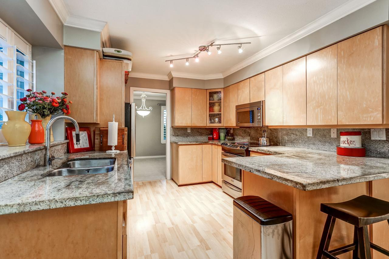Kitchen at 3429 Roxton Avenue, Coquitlam
