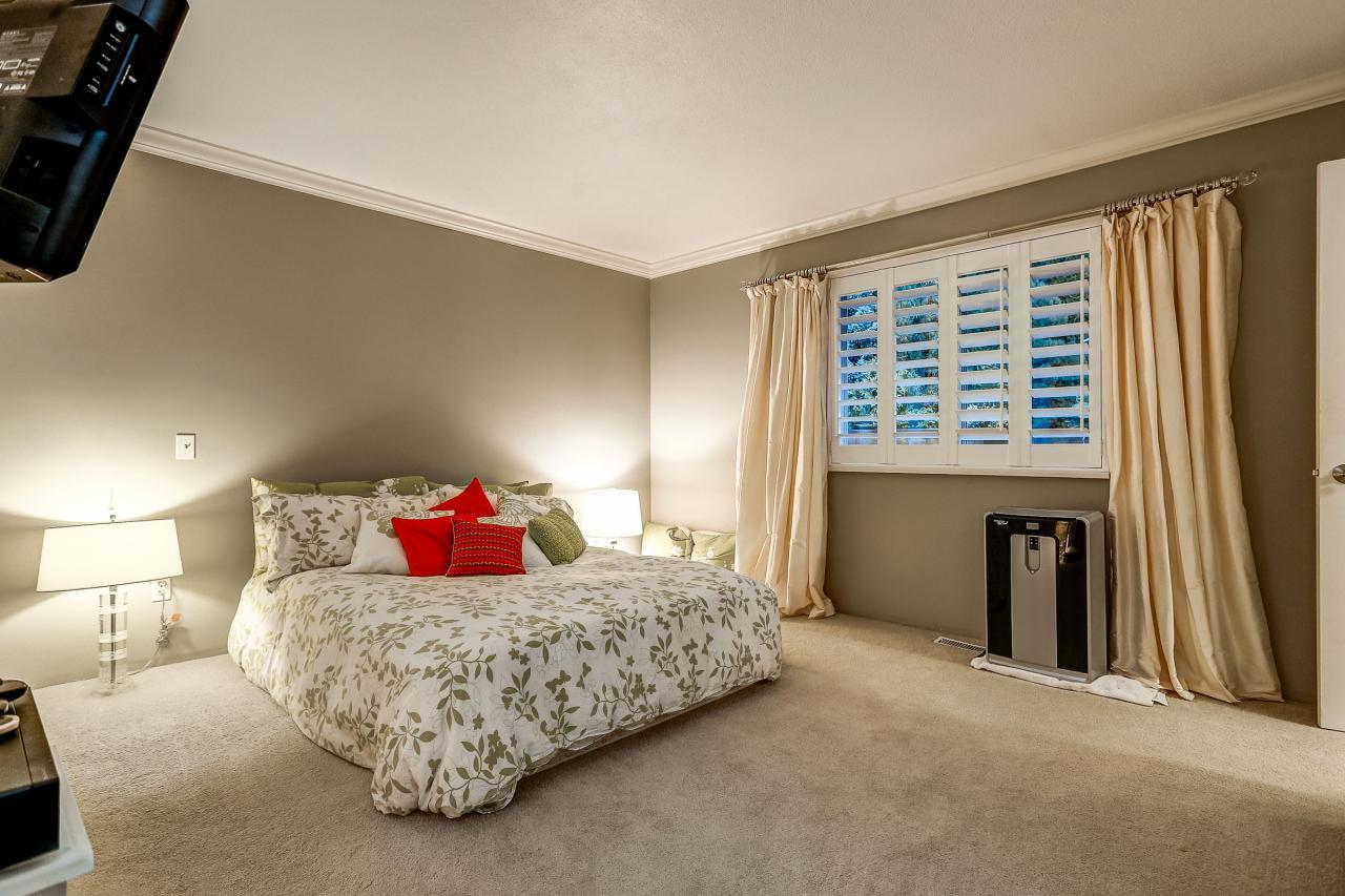 Master Bedroom at 3429 Roxton Avenue, Coquitlam