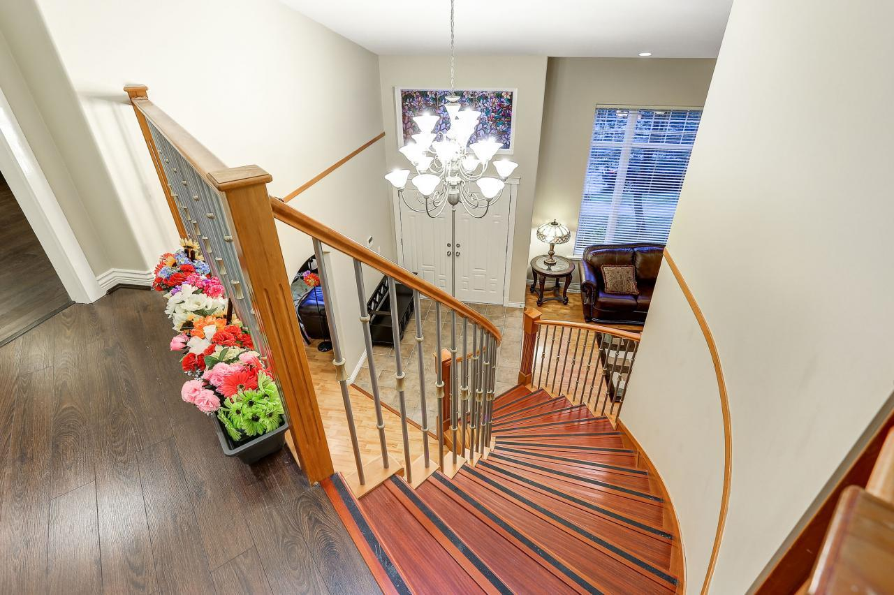 Staircase at 2038 Parkway Boulevard, Westwood Plateau, Coquitlam