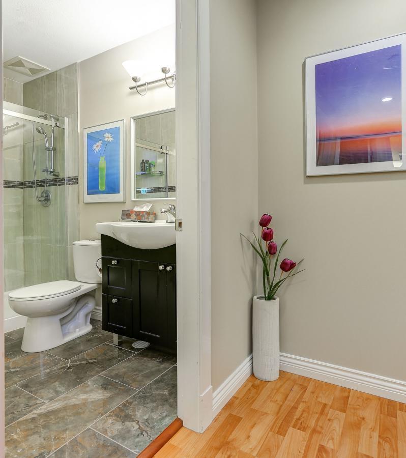 Main Floor Bathroom at 2038 Parkway Boulevard, Westwood Plateau, Coquitlam
