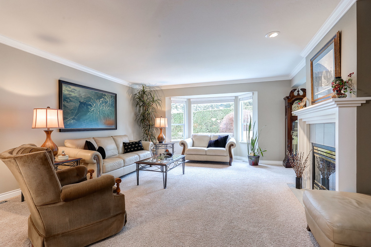 Living Room at 9 - 101 Parkside Drive, Heritage Mountain, Port Moody
