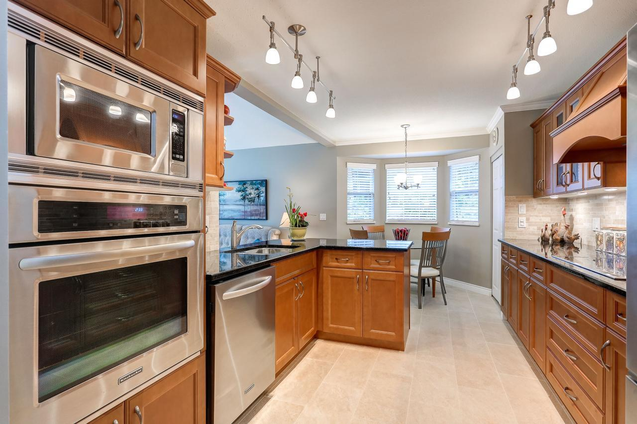 Renovated Kitchen at 9 - 101 Parkside Drive, Heritage Mountain, Port Moody