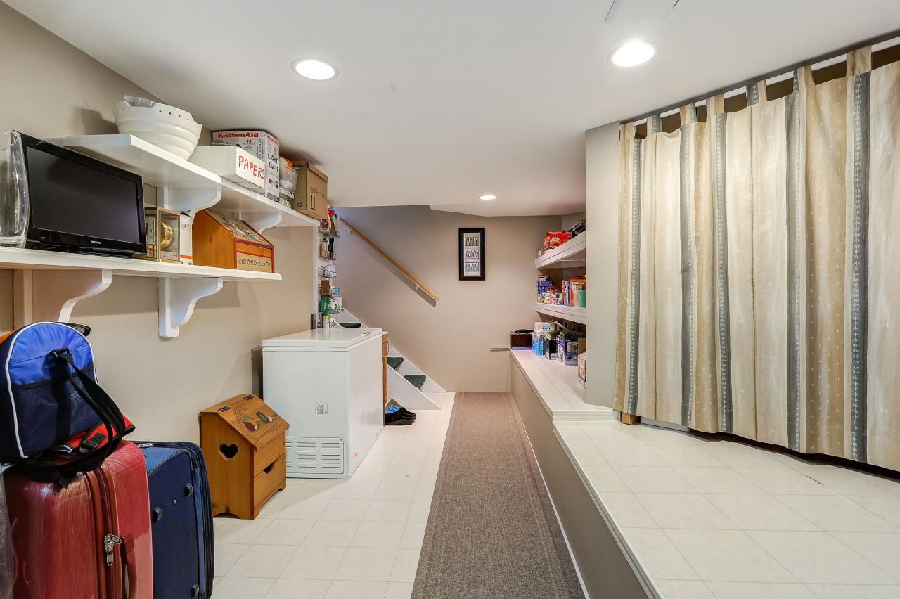 Basement storage at 9 - 101 Parkside Drive, Heritage Mountain, Port Moody