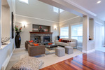 Great Room at 3301 Mctavish Court, Hockaday, Coquitlam
