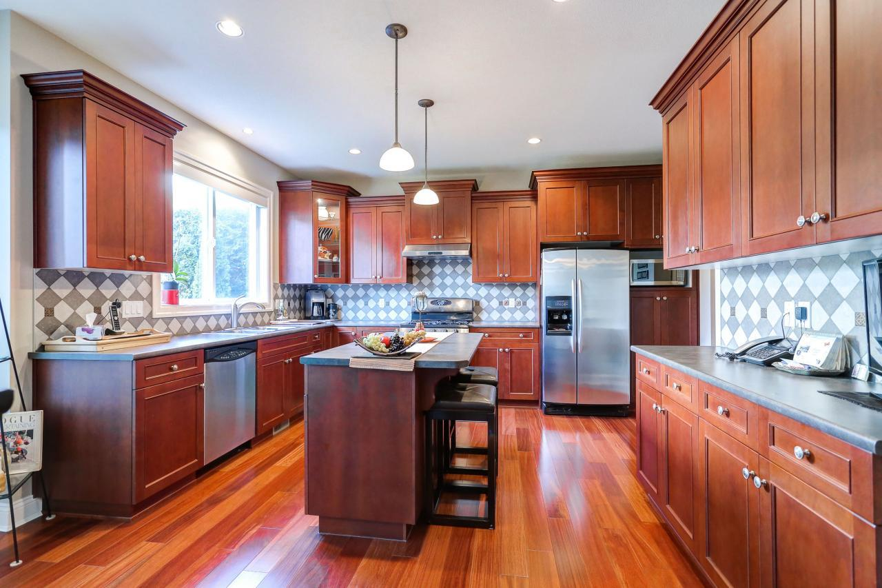 Kitchen at 3301 Mctavish Court, Hockaday, Coquitlam