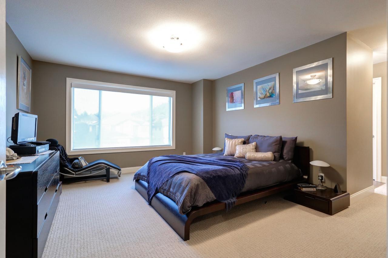 Master Bedroom  at 3301 Mctavish Court, Hockaday, Coquitlam