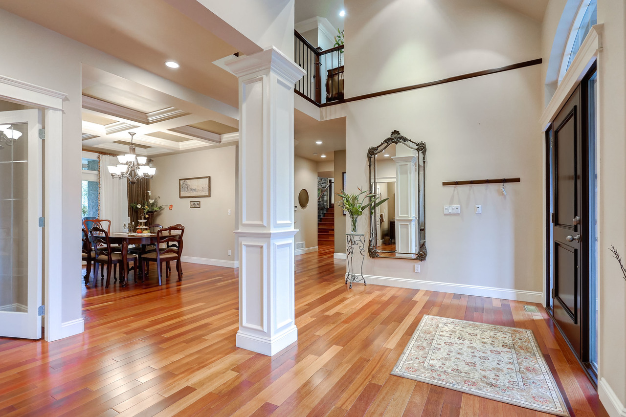 Foyer at 1053 Ravenswood Drive, Anmore, Port Moody