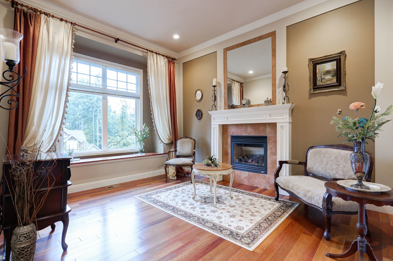 Formal Living Room at 1053 Ravenswood Drive, Anmore, Port Moody