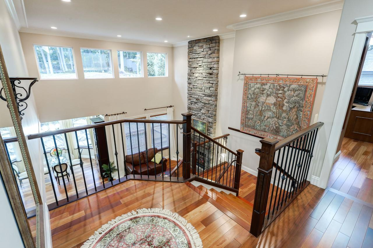 Upstairs Landing at 1053 Ravenswood Drive, Anmore, Port Moody