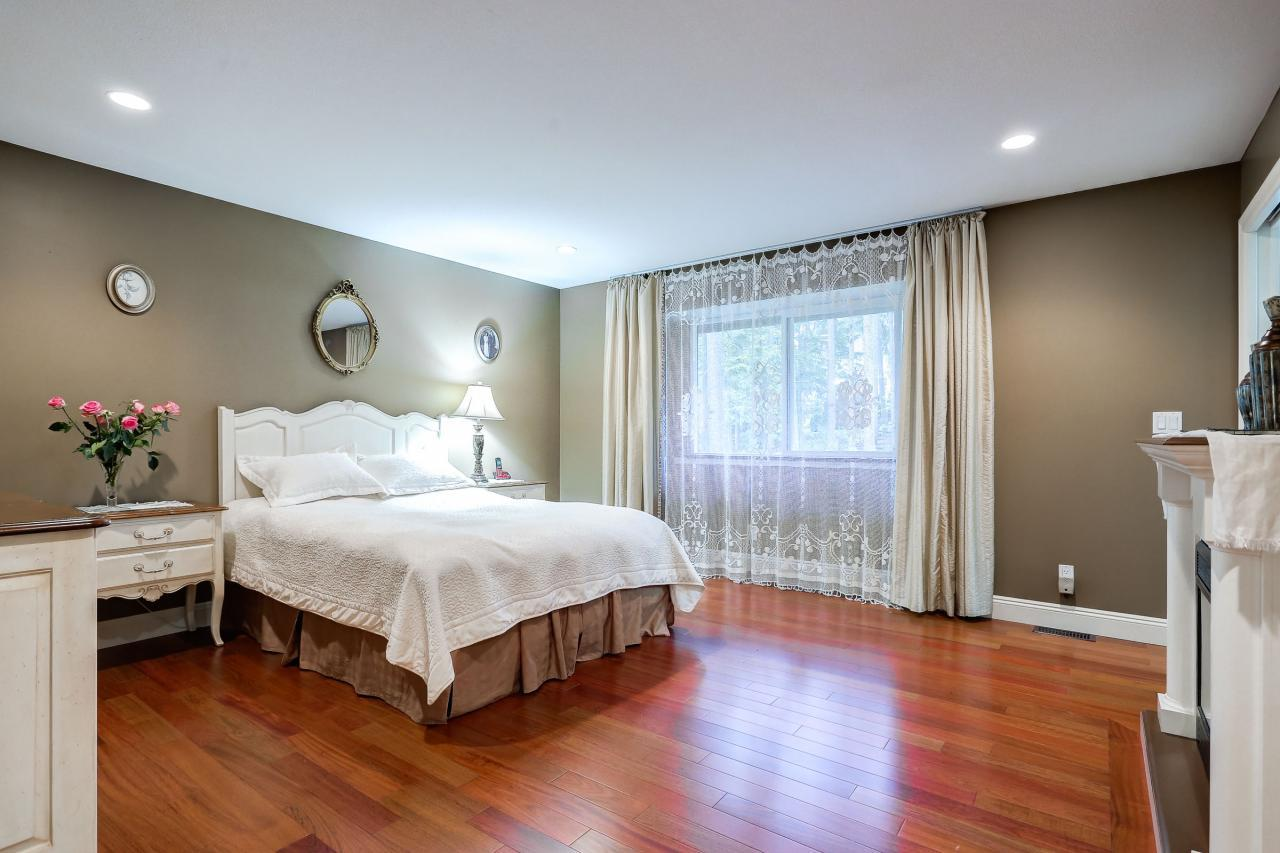 Master Bedroom at 1053 Ravenswood Drive, Anmore, Port Moody