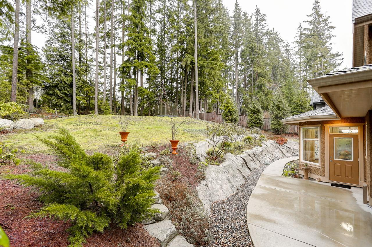Yard at 1053 Ravenswood Drive, Anmore, Port Moody