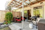 Covered Patio at 102 - 3265 Sefton Street, Glenwood PQ, Port Coquitlam