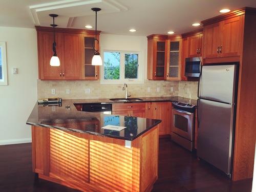 kitchen at 531 Oliver Street, Oak Bay, Victoria
