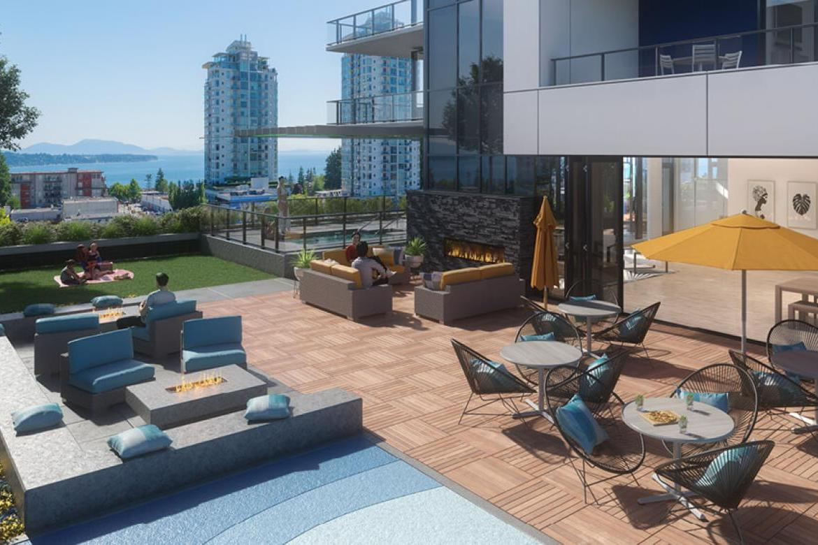 802 - 1588 Johnston Road, White Rock, South Surrey White Rock