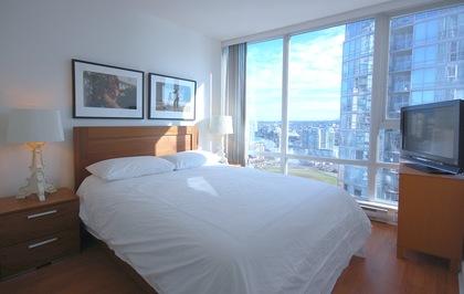 Bedroom at 2905 - 1495 Richards Street , Yaletown, Vancouver West
