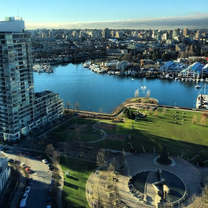 Granville Island and False Creek Views at 2905 - 1495 Richards Street , Yaletown, Vancouver West