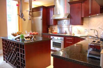Gourmet Kitchen at 503 - 499 Drake Street, Yaletown, Vancouver West