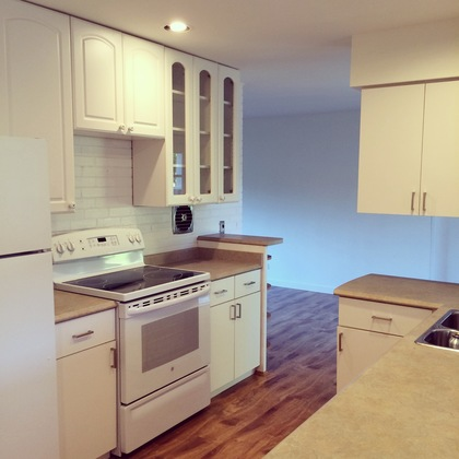Refurbished Kitchen at 979 Devon Road, Forest Hills NV, North Vancouver