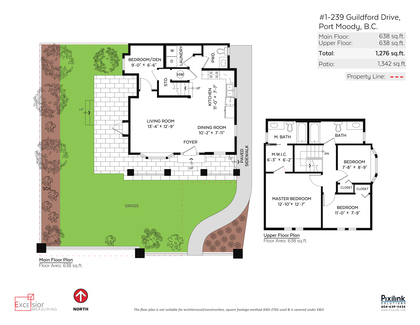 Floor-Plan at 1 - 239 Guilford Drive, North Shore Pt Moody, Port Moody