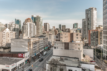 North East Views at 1003 - 1325 Rolston Street, Downtown VW, Vancouver West