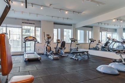 Gym at 1003 - 1325 Rolston Street, Downtown VW, Vancouver West