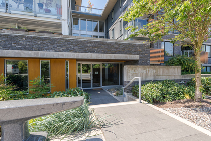 Front Entrance at 401 - 221 East 3rd Street, Lower Lonsdale, North Vancouver