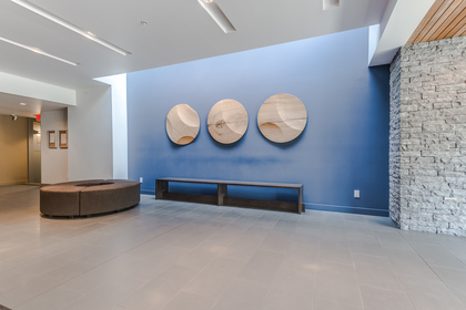 Front Entrance Lobby at 401 - 221 East 3rd Street, Lower Lonsdale, North Vancouver