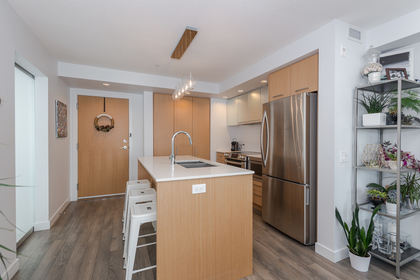 Kitchen at 401 - 221 East 3rd Street, Lower Lonsdale, North Vancouver