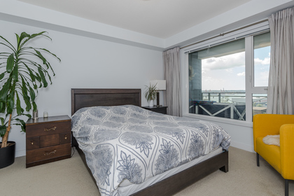Master Bedroom at 401 - 221 East 3rd Street, Lower Lonsdale, North Vancouver