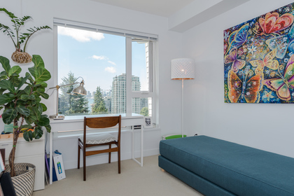 2nd Bedroom at 401 - 221 East 3rd Street, Lower Lonsdale, North Vancouver