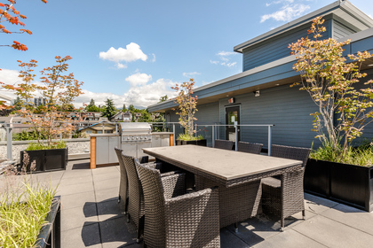 Common Area Roof Top Patio at 401 - 221 East 3rd Street, Lower Lonsdale, North Vancouver
