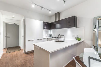 Kitchen at 212 - 108 East 1st Avenue, Mount Pleasant VE, Vancouver East