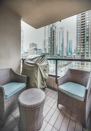 Balcony at 904 - 928 Homer Street, Yaletown, Vancouver West
